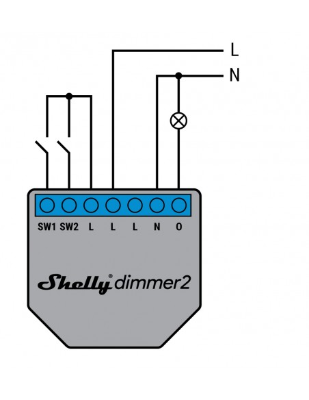 Shelly WiFi Dimmer2